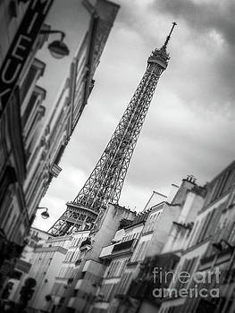 Leaning Eiffel tower by Delphimages Photo Creations