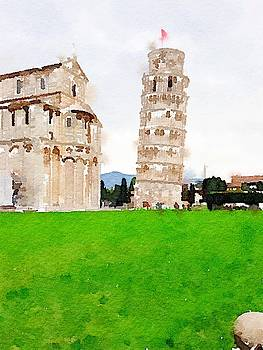 Leaning Tower of Pisa by Kenna Westerman