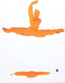 Leap Brush Orange 1 by Shungaboy X