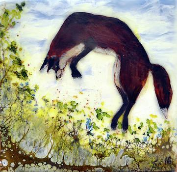 Leaping Fox 1 by Jennifer Creech