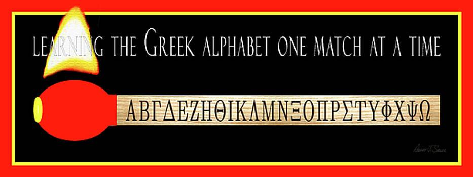 Learning The Greek Alphabet by Robert J Sadler