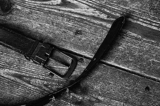 Leather belt by Frances Lewis