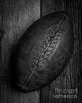 Leather Pigskin Football by Edward Fielding