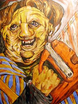 Leatherface by Michael Toth