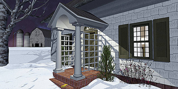 Leave the Porch Light On by Peter J Sucy