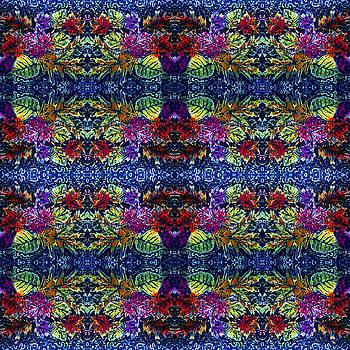 Sue Duda - Leaves Batik Tiled
