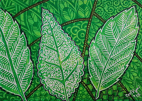 Leaves of Spring by Michelle Vyn