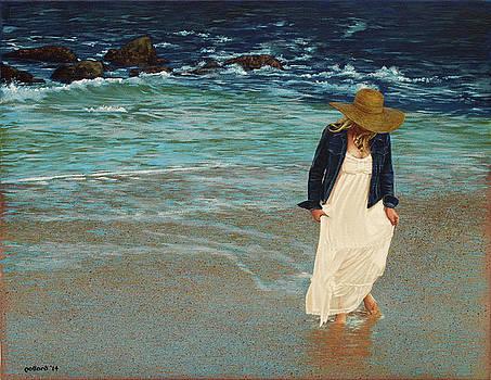 Leaving the Beach by Glenn Pollard