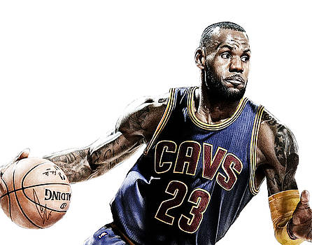 LeBron by Bobby Shaw