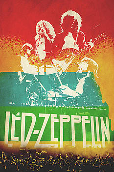 Led Zeppelin by Farhad Hassan