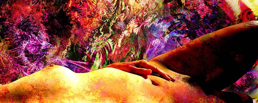 Leda Waiting For Mardi Gras And The Swan by Paul Pinzarrone