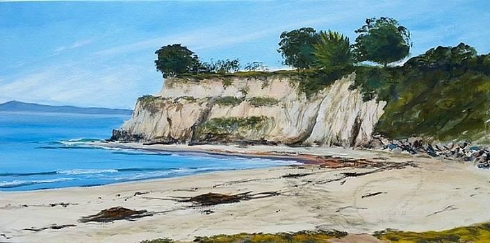 Ledbetter Point Summer High Tide by Jeffrey Campbell
