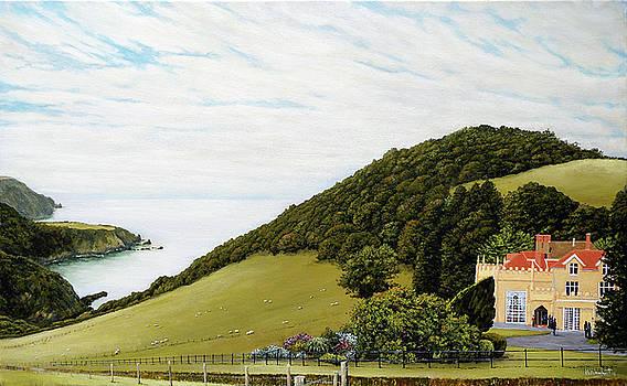 Lee Abbey and Coastline by Mark Woollacott