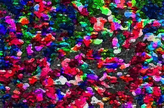 Lee Krasner Spider Plant Digital Detail 5 by Dick Sauer