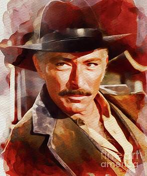 John Springfield - Lee Van Cleef, Vintage Movie Star
