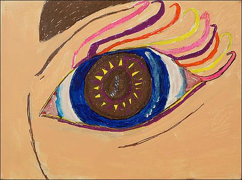 Left Eye by Jennifer Bentrim