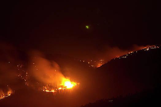 James BO  Insogna - Lefthand Canyon Wildfire flare up Boulder County Colorado