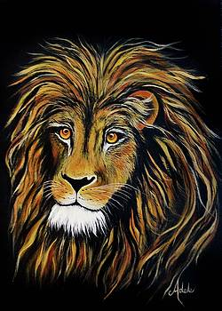 Lorraines Lion by Adele Moscaritolo