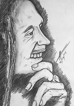 Legendary Bob Marley  by Collin A Clarke