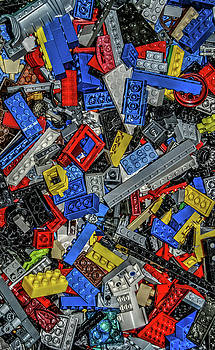 Legos - Vertical by Guy Harnett