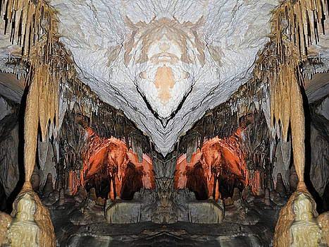 Lehman Caves Mirror by Kyle Hanson