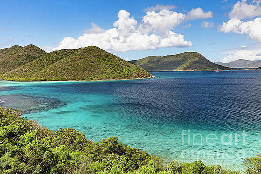 Leinster Bay Scenic Vista by George Oze