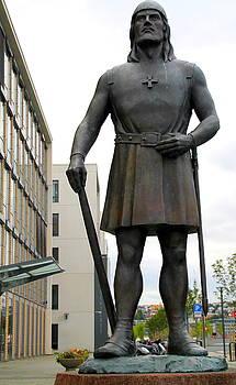 Leiv Eiriksson Statue by Laurel Talabere