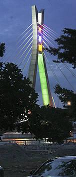 Tower of Lekki-Ikoyi Bridge, Lagos by Muyiwa OSIFUYE