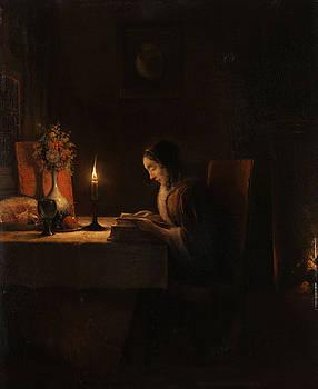 Petrus Van Schendel - Lekture Bei Kerzenlicht