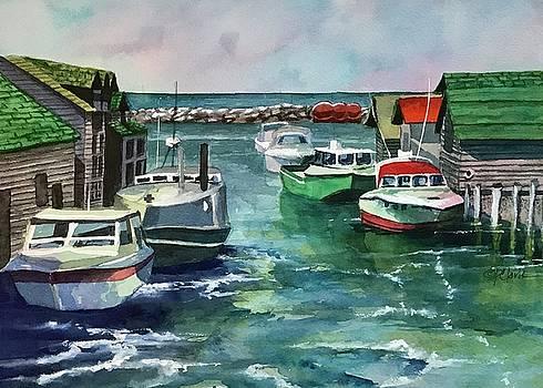 Leland Fishtown by Donna Pierce-Clark