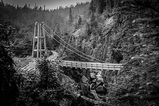 LeManche Bridge B and W by Ryan Tarrow