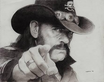 Lemmy Kilmister by Glenn Daniels