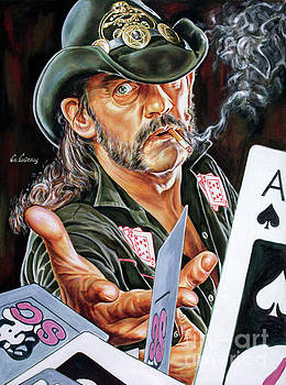 Lemmy Kilmister by Spiros Soutsos