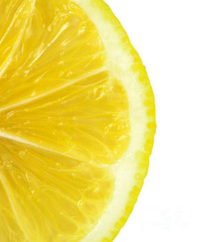 Lemon close up by Deyan Georgiev