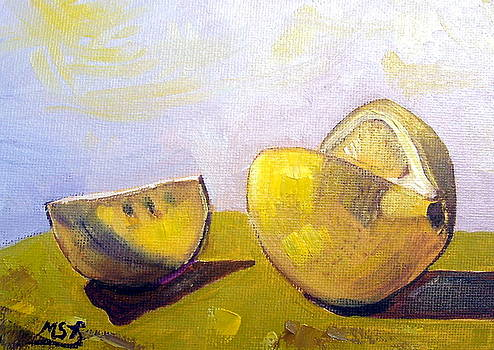 Lemon for Rookiepainter by Maria Soto Robbins