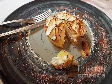 Lemon meringue tart by Louise Heusinkveld