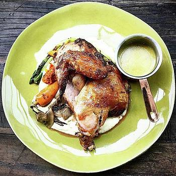 Lemon-thyme Grilled Chicken by Arya Swadharma