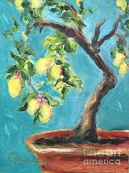 Lemon Tree at La Consuma by Kathy Lynn Goldbach