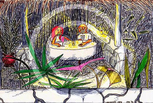 lemones Cafe by Ozy Kroll