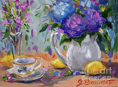 Lemons and Purple  by Jennifer Beaudet
