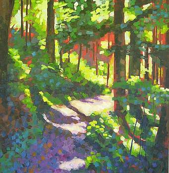Lena Lake Trail II by Mary McInnis