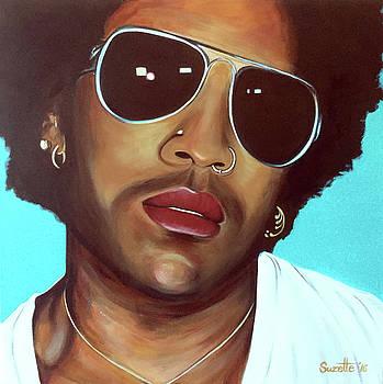 Lenny Kravitz by Suzette Castro