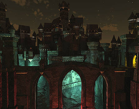 L'entree sombre du fantome by Steven Palmer
