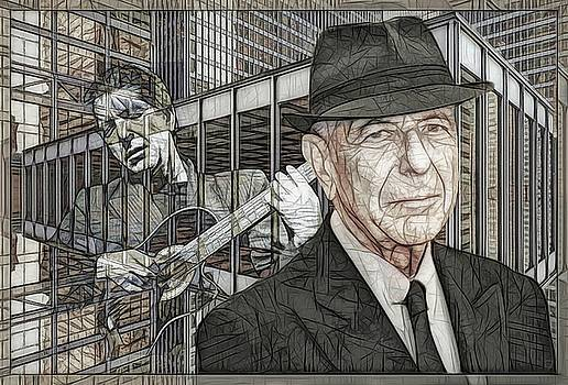 Leonard Cohen - Guitars And Windows - Version B  by Daniel Arrhakis