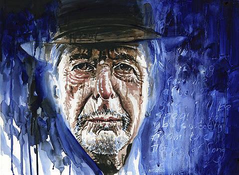 Leonard Cohen by Ken Meyer jr