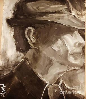 Leonard Cohen by Mark Macko