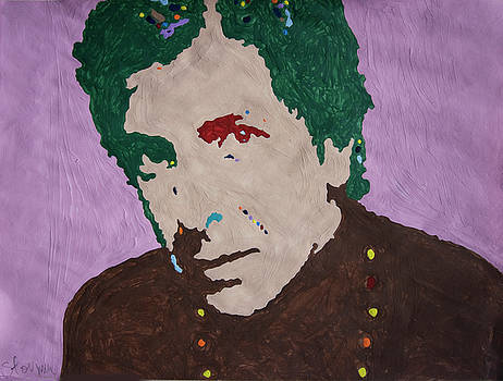 Leonard Cohen by Stormm Bradshaw