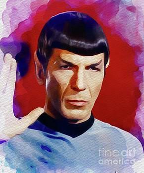 John Springfield - Leonard Nimoy as Spock