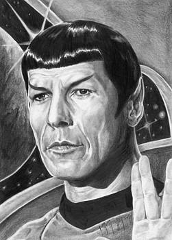Leonard Nimoy - Mr. Spock by Iracema Marianne Muller