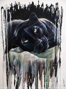 Leopard Splash by Sandi Baker